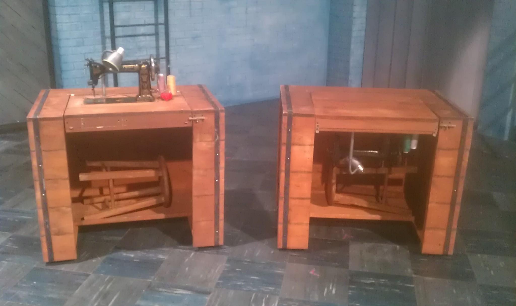 Sewing Machine Table Design : northwestern university evanston il scenic designer kristina herne ...
